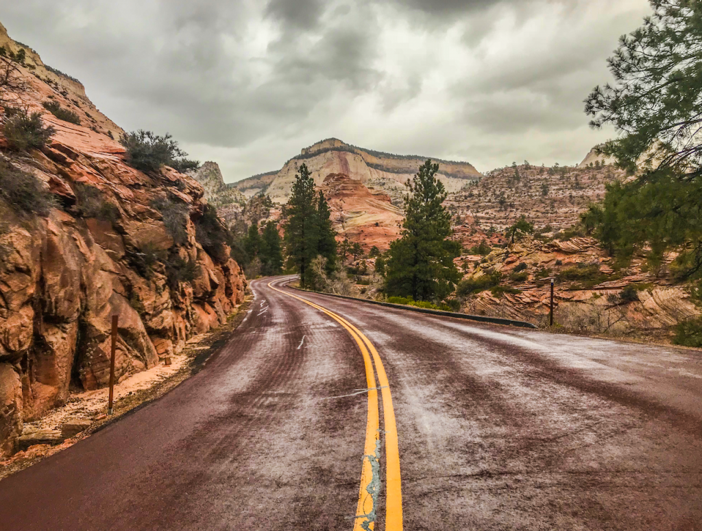 #ITAP This is a picture I took on my last trip to Zion National Park on the Mount Carmel Highway.