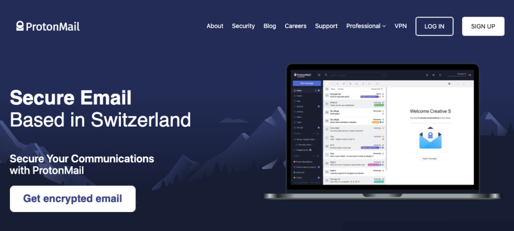 ProtonMail is a strong alternative if you are moving on from Gmail.