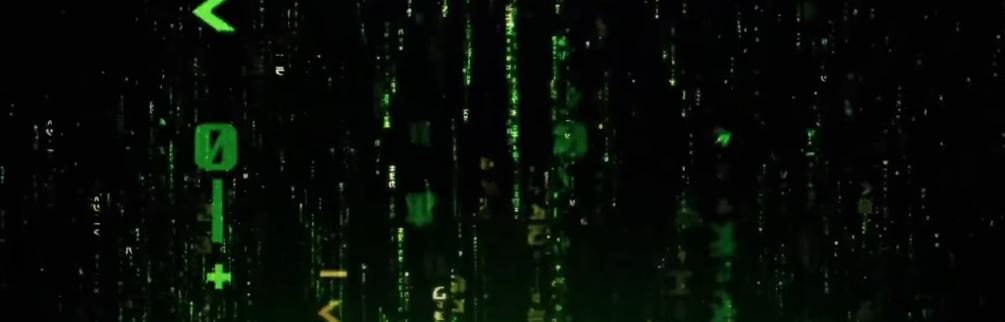 The Matrix 4 Teaser Trailer Intro Screengrab